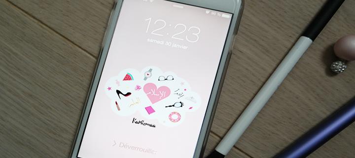"Freebies – Fond d'écran de smartphone girly et ""islamique"""
