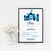 Poster de naissance château