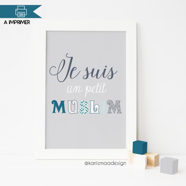 Je suis un petit Muslim