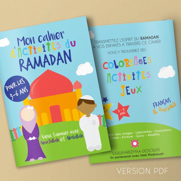 Mon cahier d'activités du Ramadan (PDF)