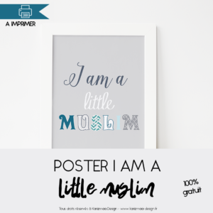 Poster I am a Little muslim