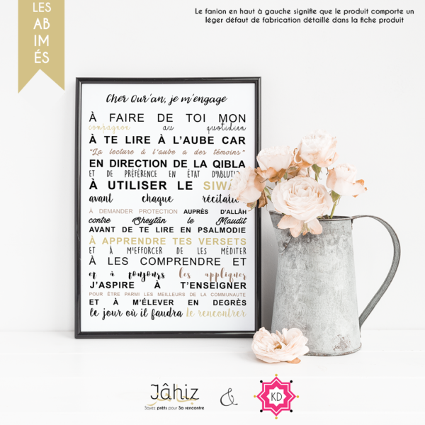 Poster - Cher Quran
