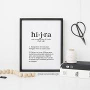 Poster Définition de Hijra