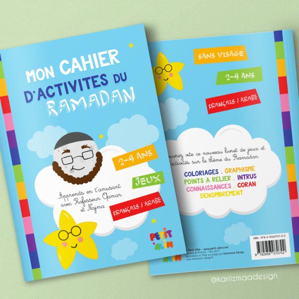 Mon cahier d'activités du Ramadan 2-4 ans