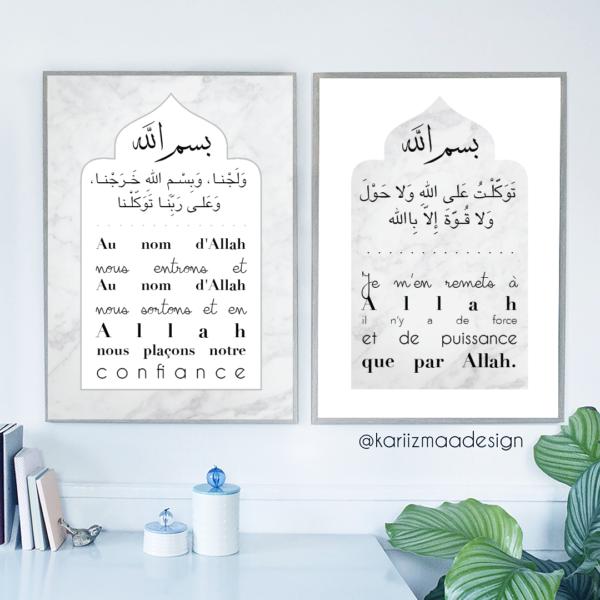 Poster Invocations de la maison
