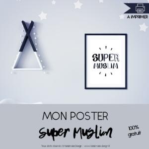 Poster Super Muslim