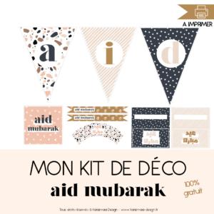 Mon kit de Déco Aid Mubarak Terrazzo